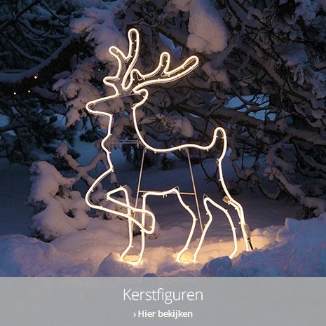 Kerstfiguren buiten