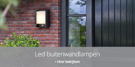 LED-wandlampen buiten