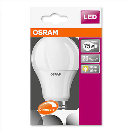 E27 10,5W 827 LED-lamp Superstar, dimbaar