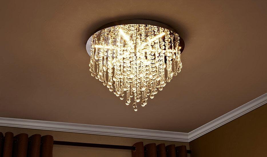 Welke designplafondlamp past in welke ruimte?