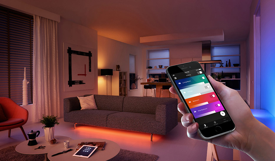 Philips Hue smartphone