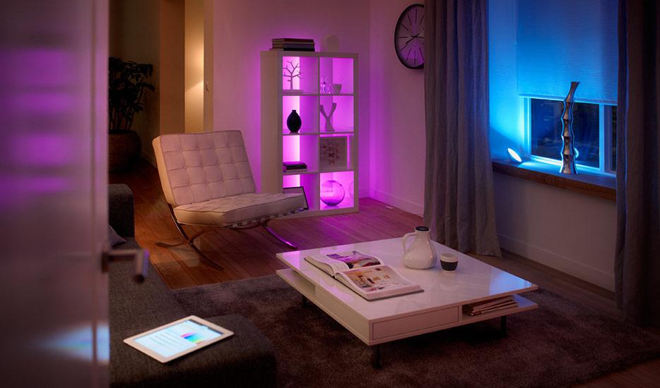 Hoe start ik met smarthome-verlichting in mijn woonkamer?