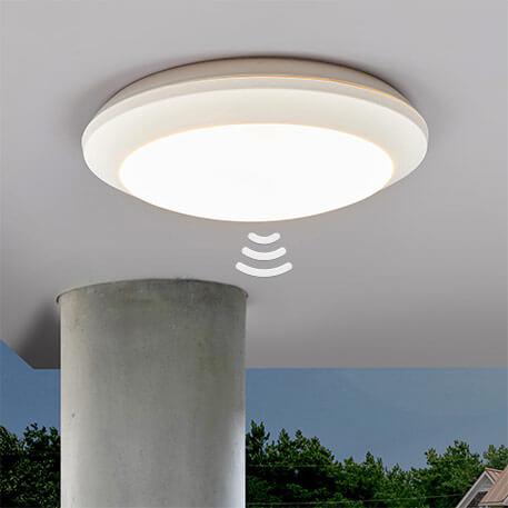 Witte sensor plafondlamp Umberta 11 W 3.000 K