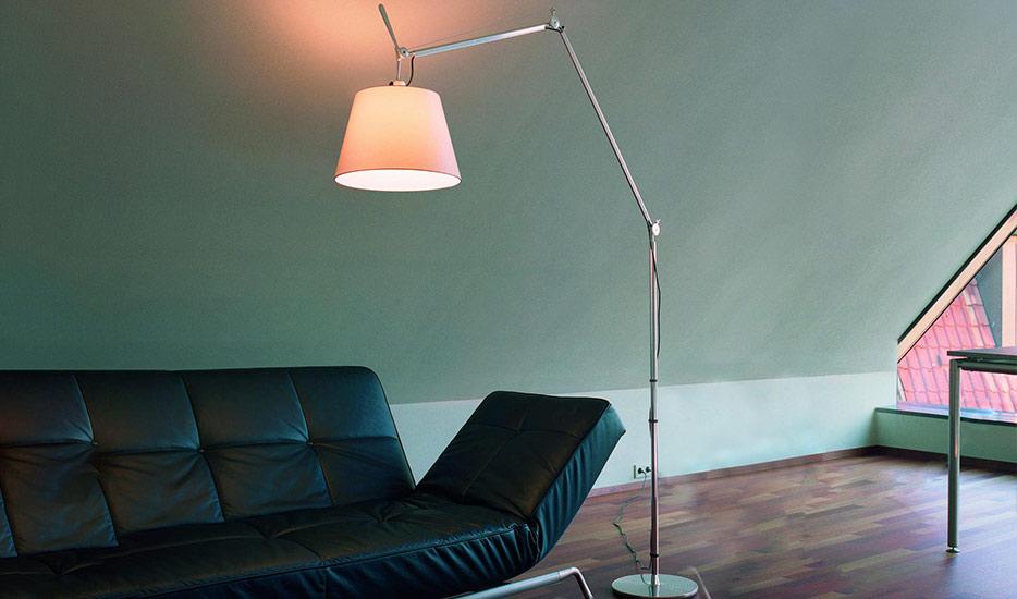 Design vloerlampe