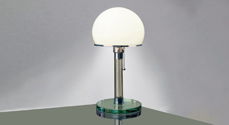 tecnolumen wagenfeld design tafellamp bauhaus