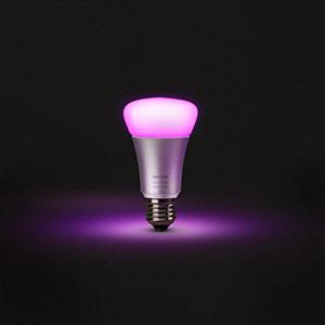 E27 LED lamp color
