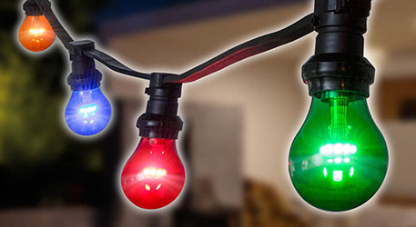E27 LED lampen feetslinger