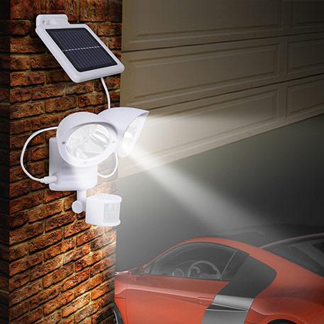 Maex - wandlamp op zonne-energie met 2 lampen