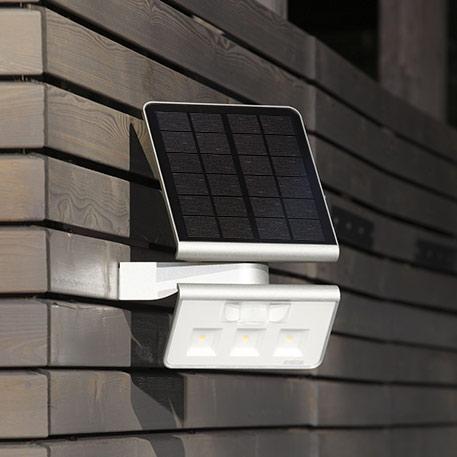 Efficiënte Solar LED-buitenwandlamp XSolar L-S s