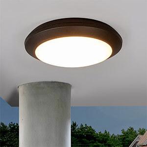 LED plafondlamp buiten