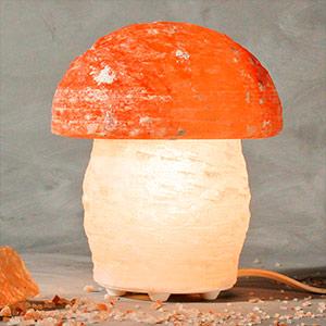 Zoutlamp paddestoel