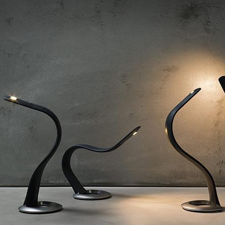 Biegsame LED-Tischleuchte Hatha