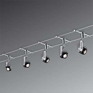 kabelverlichting met spankabels