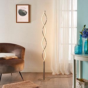 moderne staande lamp