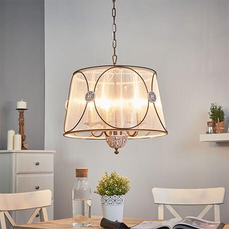 stoffen hanglamp