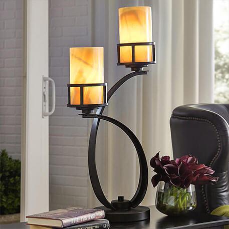 landelijke tafellamp
