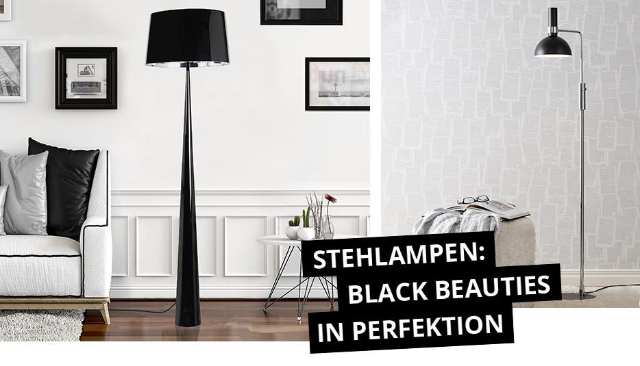 Vloerlampen: black beauties