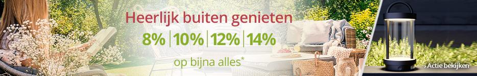 Tot 14% extra korting