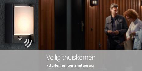 Buitenlampen met sensor