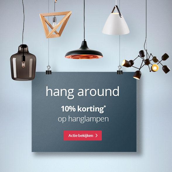 hang around 10% korting