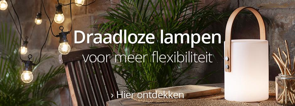 Draadloze lampen