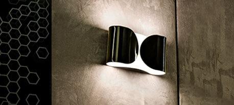 FLOS Foglio - glanzende wandlamp