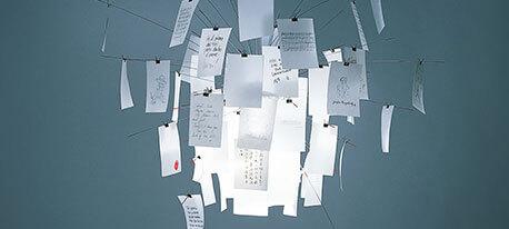Aanpasbare design hanglamp Zettel'z 6