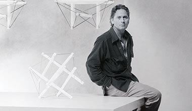 Ingo Maurer met Light-Structure