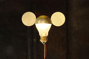 I Ricchi Poveri Toto - design tafellamp