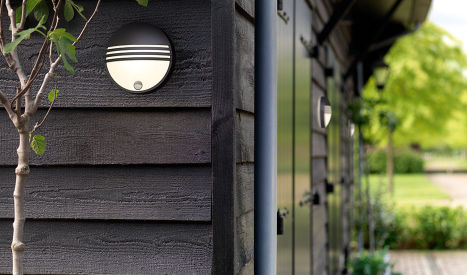 voordelen van een buitenwandlamp met bewegingsmelder