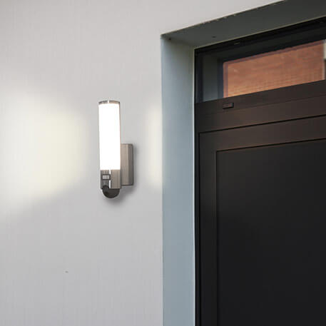 Inwendige camera - Led buitenwandlamp Elara Cam