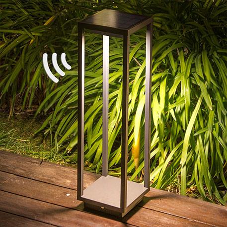 LED sokkellamp Saura zonne-energie met sensor