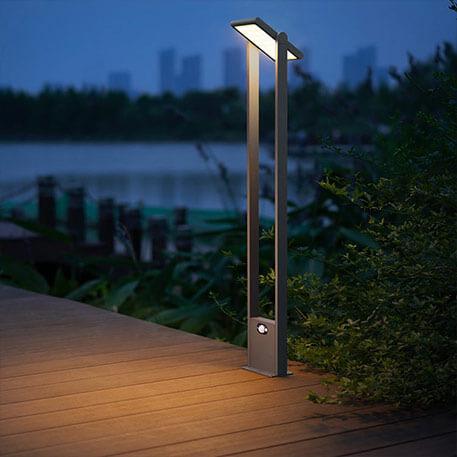 Wegenlamp Valerian met LED's, op zonne-energie