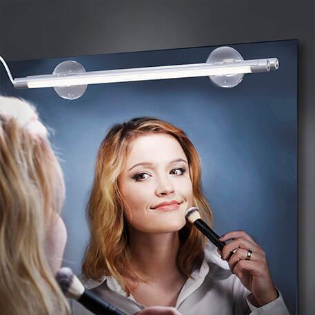 LED spiegelverlichting Kim met touchschakelaar