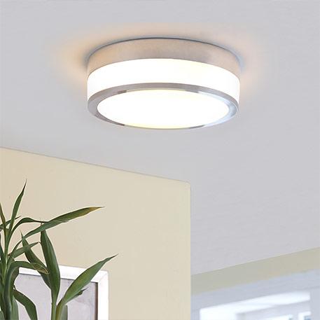 Flavi - plafondlamp voor de badkamer, chroom
