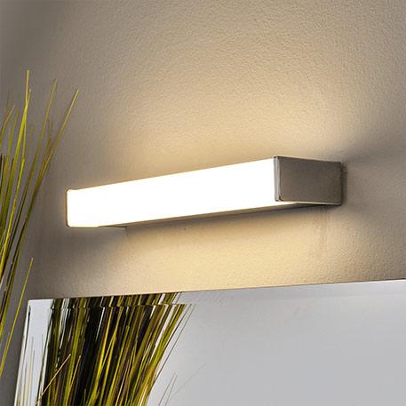 Hoekige badkamer- en spiegellamp Philppa