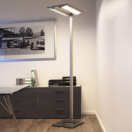 Classic Tec - LED-vloerlamp voor de werkplek