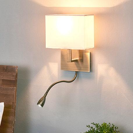 Fraaie wandlamp DARIO met LED