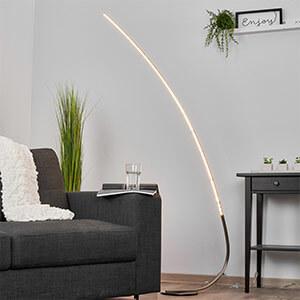 Minimalistische LED-vloerlamp Madeleine