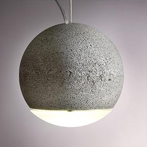 Hanglamp TRABANT, 16 cm met matte lens