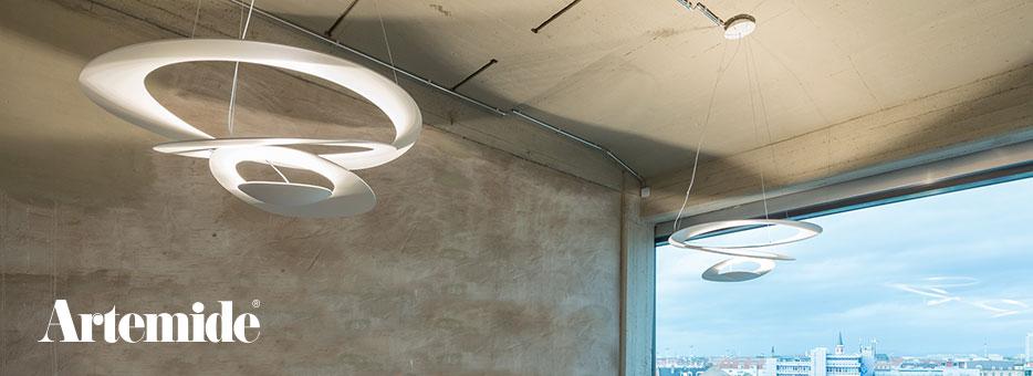 Plafondlampen van Artemide