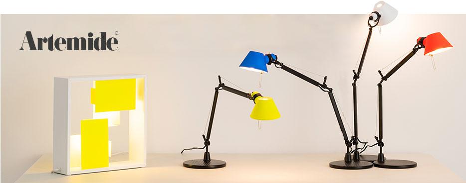 Artemide Tafellampen