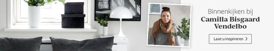 Binnenkijken bij Camilla Bisgaard Vendelbo