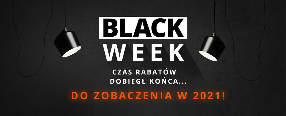 Black WEEK  dobiegł końca